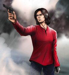 Bucky by SargeCrys