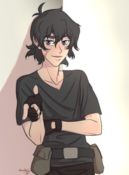 Keith of Voltron by AlexandeNight