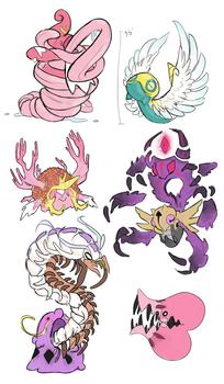 Bogleech Dream Megas by Toldentops