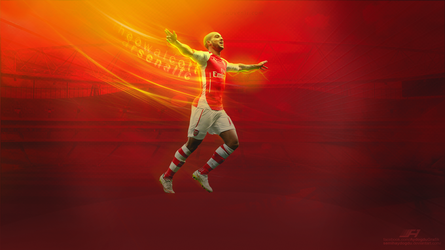 Theo Walcott Wallpaper by SemihAydogdu