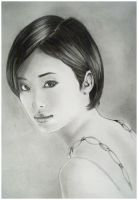 Aya Ueto Portrait by Lisa-Of-The-Moon