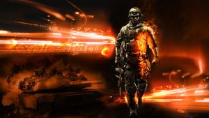 Battlefield 3 Desktop Background Stream Edition by Xxplosions