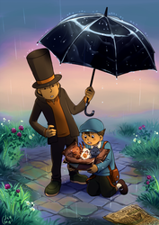 Rainy with a chance of kittens by McRomu