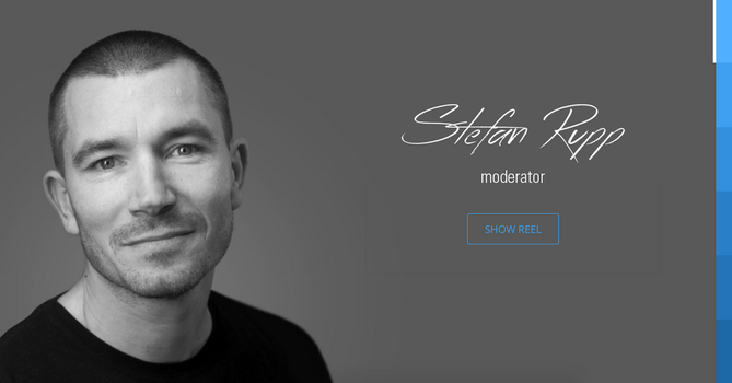 Stefan Rupp Website by SebastianKlammer