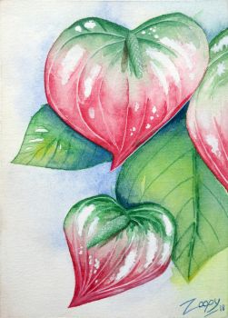 Obake Anthurium by l-Zoopy-l
