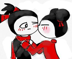 Pucca and Garu: I love you forever... by EndhazomGurl