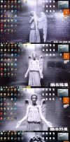 Doctor Who! - Weeping Angel changing desktop by Cerebral-Delirium