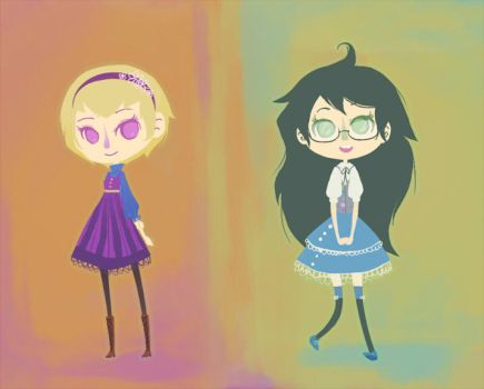 cute dresses by JellyBunny
