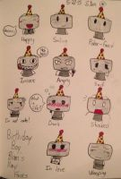 Birthday Boy Blam's Many Faces by Cosmic86