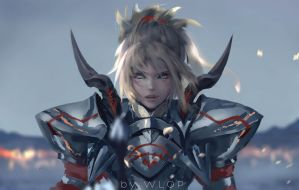 Mordred by wlop