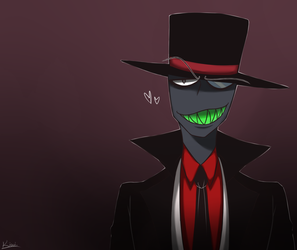 Villainous-Black Hat 2 by w-Kiwi-w