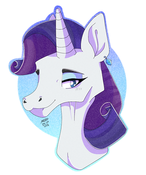 MLP - Rarity by TheMashedCat