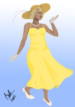 Lady in Yellow by ShannonSP2