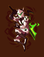 genji (again) by Ionic-Isaac