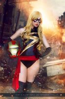 Ms. Marvel - New Avengers - Marvel Comics by FioreSofen