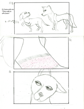 The Dog and The Wolf storyboard 7 by fanime1