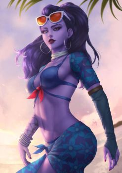 Cote d'Azur Widowmaker by PoppyMinty