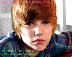 Bieber My Balls by lrn-buckley