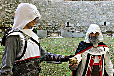 Altair x OldAltair Cosplay - Bleeding Effect by 6Silver9