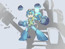Megaman x EarthSpirit by cjohn22
