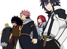 The Best Fairy Tail Group by JasmineBlack