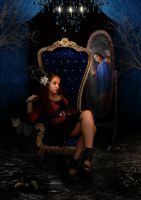 My inner throne room by raneenzie