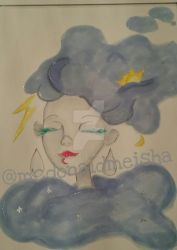 head in the clouds... by Mekeisha