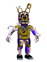 Funtime Springtrap by TheGoldenGamer90010