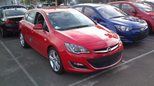 Showroom Opel Astra Turbo by TricoloreOne77