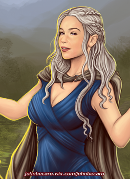 GOT: Mother of Dragons by johnbecaro