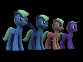 PONIES by darth-biomech