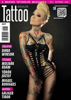 Hungarian Tattoo Magazine 186 - Oct 2015 by hortipeter