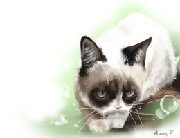 Tard - Grumpy Cat by Windemo