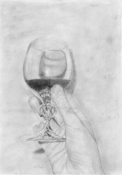 Wine Glass by TheBazookaGum