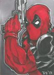 Deadpool Card by DKHindelang