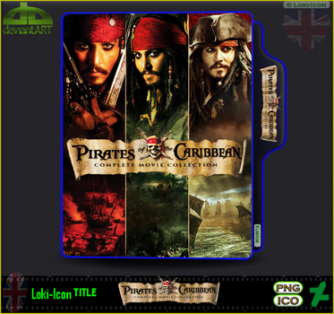 Pirates of the Caribbean Collection by Loki-Icon