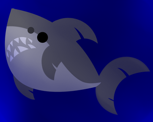 Quick Doodle - Shark! by neonbloo25