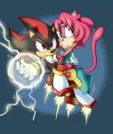 Lightning and Earth by chibi-jen-hen