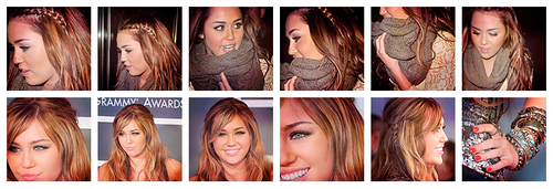 12 icons of miley cyrus by kindsoflove
