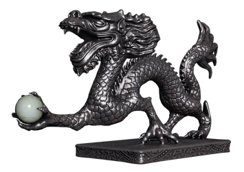 Chinese Dragon 02 PNG Stock by Roy3D