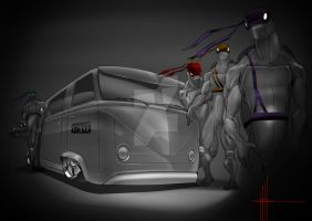 TMNT Bus by RuncimanConcepts