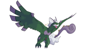 Tornadus: Sacred Beast Forme by CherubimonX