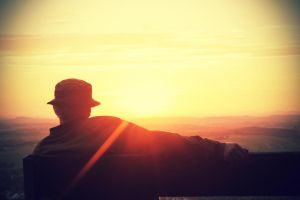 Old man sunset #2 by TheLifeInFocus