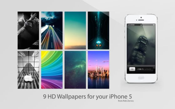 iPhone 5 HD Wallpaper pack 2 by SpeedX07