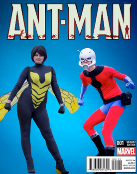 Ant Man and The Wasp cosplay by ramtopsman