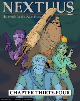 Nextuus Chapter 34 cover by NyQuilDreamer