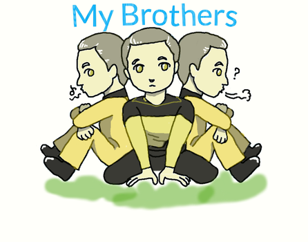 My Brothers by datafukuchan