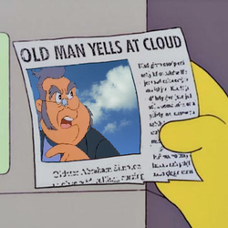 Old Man Yells At Cloud by srbarker