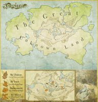 TROB- Augiira World Map by Stitchy-Face