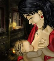 The Mother by Angelii-D